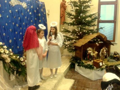 Jasličková pobožnosť Lackovce, 2015