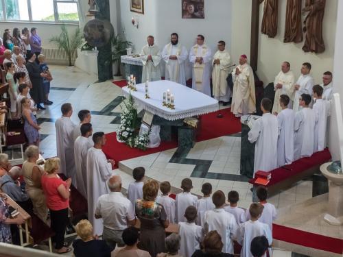 20. výročie konsekrácie kostola