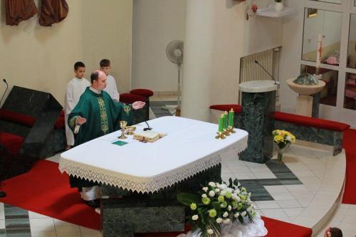 Rozlúčka s kaplánom Braňom