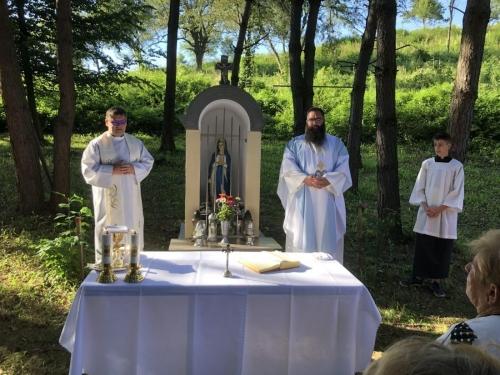 Svätá omša pri kaplnke Panny Márie, 2020